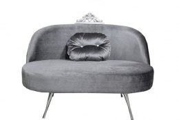 Settee GLAMOUR with crown