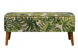 Bench Monstera Green