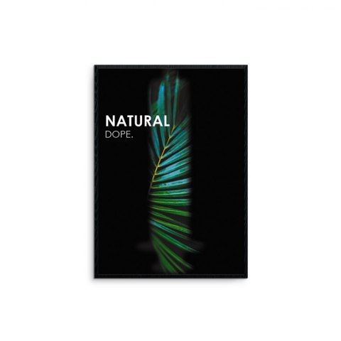 "Framed graphics ""Natural Dope"""