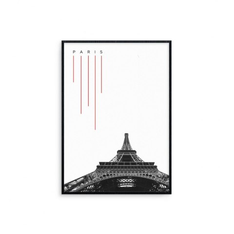 Graphic in frame Paris