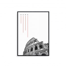 Graphic in frame Rome