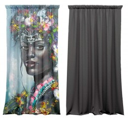 Cotton curtains Africa