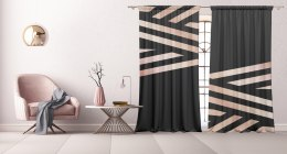 Cotton curtains Strips
