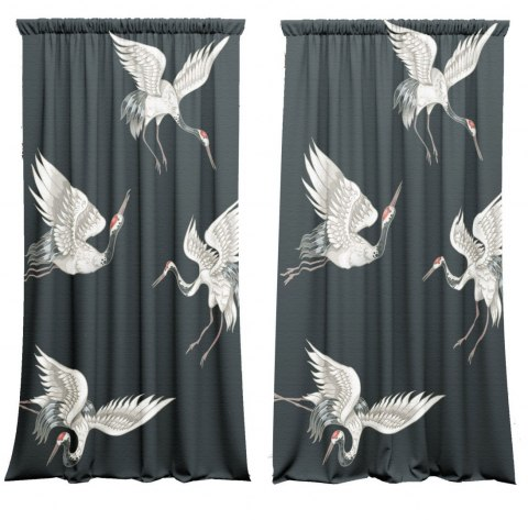 Cotton curtains Japan Style