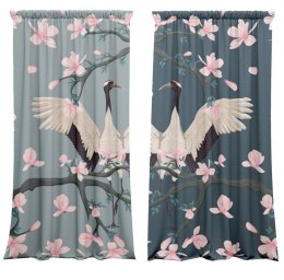 Cotton curtains Hanami