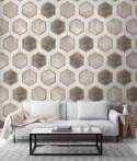 Wallpaper wall HONEY COMB