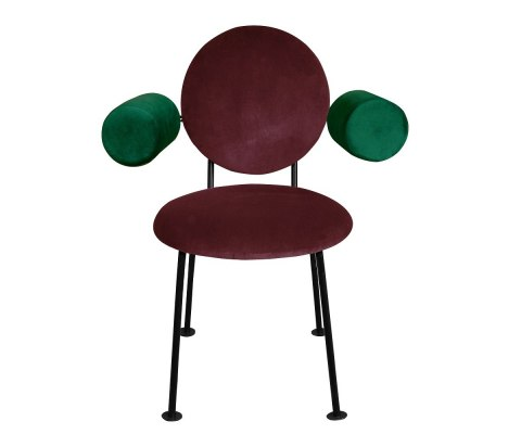 Medallion Armchair with armrests