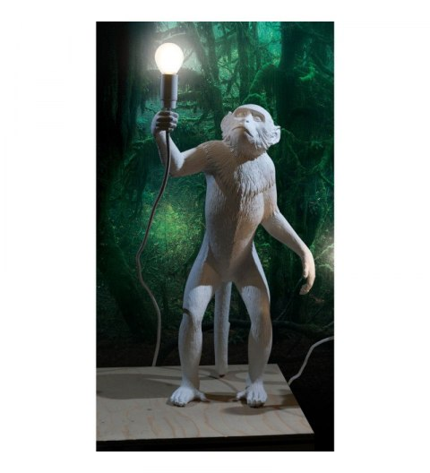 Monkey Seletti lamp standing white