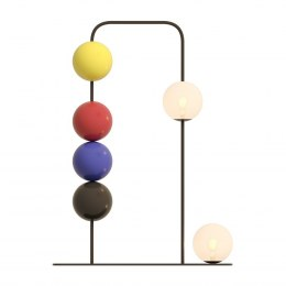 MOVING BALL floor lamp