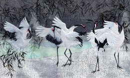 Storks Wall Paper